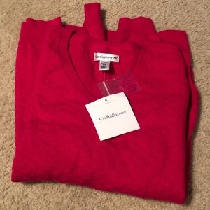 NWT Pink Croft&Barrow Sweater
